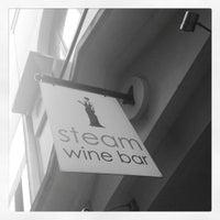 Photo taken at Steam Wine Bar by Greg C. on 10/17/2012