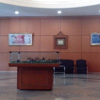 Photo taken at Bank indonesia by Okta S. on 10/11/2013