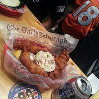 Photo taken at GB Fish & Chips by Angelique M. on 9/24/2012