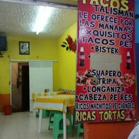 Photo taken at Tacos Talisman by Yñaki M. on 4/17/2016