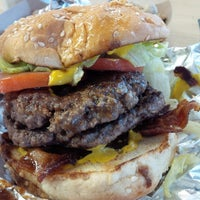 Photo taken at Five Guys by Jason C. on 9/24/2013