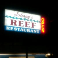 Photo taken at Johnny's Famous Reef Restaurant by V.R. M. on 4/14/2013