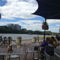 Photo taken at Nick's Riverside Grille by Amanda B. on 9/14/2013