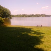 Photo taken at Core Creek State Park by Bill C. on 7/29/2013