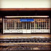 Photo taken at Verona Porta Nuova Railway Station by Antonio P. on 12/2/2012