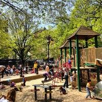 Photo taken at Bleecker Playground by Antonio P. on 4/28/2013