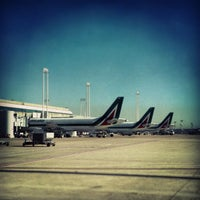 Photo taken at Leonardo da Vinci–Fiumicino Airport (FCO) by Antonio P. on 5/14/2013
