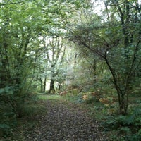 Photo taken at Greenham Common by Lis A. on 10/18/2012