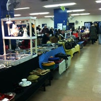 Photo taken at Columbus Ave Flea Market by Tiffany P. on 12/23/2012