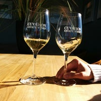 Photo taken at Cuvaison Estate Wines by Ken W. on 2/1/2014