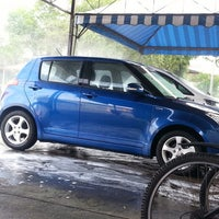 Photo taken at BHP SS12 car wash by ijam on 5/1/2013