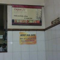 Photo taken at Depot Dua Satu (21) by Steven K. on 5/3/2013