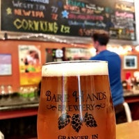 Photo taken at Bare Hands Brewery by Rob M. on 10/24/2016