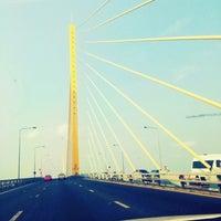 Photo taken at Rama IX Bridge by Khao-fang on 4/25/2014