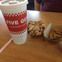 Photo taken at Five Guys by Lory V. on 7/19/2014