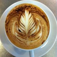 Photo taken at Fran's Café by Grazielle Abrikian T. on 9/25/2012
