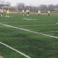 Photo taken at Hotchkiss Field by Garfield L. on 3/29/2014