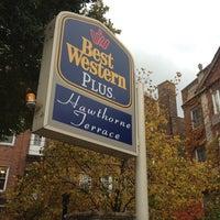 Photo taken at Best Western Plus Hawthorne Terrace Hotel by Evan[Bu] on 11/7/2013