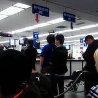 Photo taken at San Mateo DMV Office by Mark H. on 11/21/2012