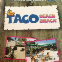 Photo taken at Taco Beach Shack by Eric M. on 10/9/2012