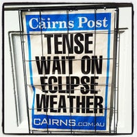 Photo taken at The Cairns Post by Simon C. on 11/13/2012