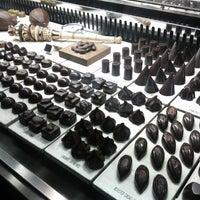 Photo taken at SOMA chocolatemaker by Betty K. on 10/5/2012