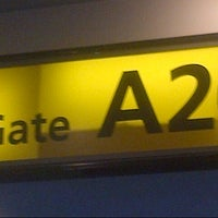 Photo taken at Terminal A by Adorkable G. on 1/17/2013