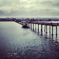Photo taken at Ocean Beach Pier by Pork D. on 3/16/2013