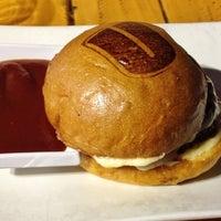 Photo taken at Umami Burger by Alex H. on 10/10/2012