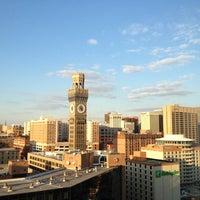Photo taken at Hilton Baltimore by Lauren F. on 2/25/2013
