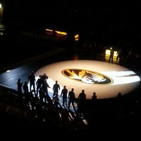 Photo taken at Hearnes Center by Adam O. on 2/2/2013