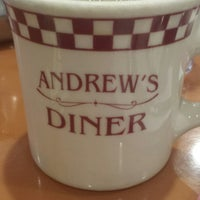 Photo taken at Andrew's Diner by Nicole D. on 1/3/2015