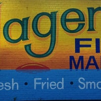 Photo taken at Hagen's Fish Market by Teddy C. on 8/14/2013