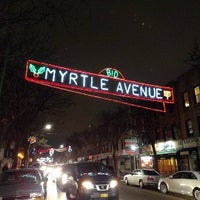 Photo taken at Myrtle Ave by BobbyHeadwrek on 11/24/2016