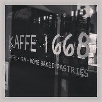 Photo taken at Kaffe 1668 by Mark K. on 7/2/2013