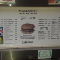 Photo taken at What-A-Burger by Kimberly T. on 12/5/2012
