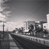 Photo taken at City West Train Station by Patrik A. on 7/5/2015