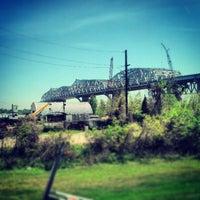 Photo taken at Huey P. Long Bridge by Joseph C. on 4/1/2013