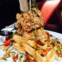 Photo taken at Hash House A Go Go by Brannon R. on 4/1/2016