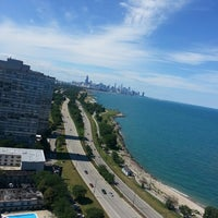 Photo taken at Chicago's Lakefront (Hyde Park) by Nicki J. on 8/3/2013