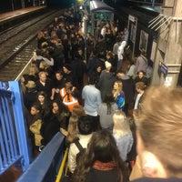 Photo taken at Alexandra Palace Railway Station (AAP) by Jon B. on 12/3/2015