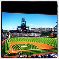 Photo taken at Coors Field by Jarrod P. on 6/2/2013
