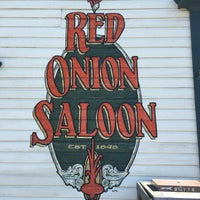 Photo taken at Red Onion Saloon by Brian R. on 6/16/2016