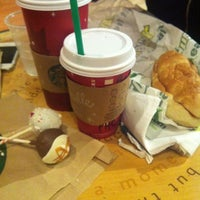 Photo taken at Starbucks by Jen G. on 12/28/2012