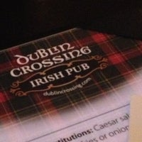 Photo taken at Dublin Crossing Irish Pub by Patrick K. on 12/19/2012