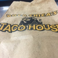 Photo taken at Boca Chica's Taco House by Ryan R. on 5/16/2016