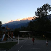 Photo taken at Camping Belledonne by Anne H. on 8/21/2013