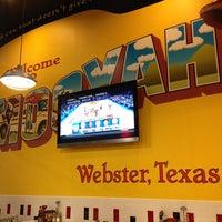 Photo taken at Mooyah Burger by David F. on 2/28/2013