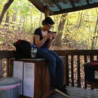 Photo taken at Malouf's Mountain Sunset Campground by Adam W. on 10/22/2012