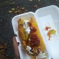 Photo taken at Hotdog Tommy's by Tony X. on 7/22/2013